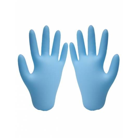Gants nitrile bleu