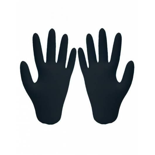 Gants nitrile noir