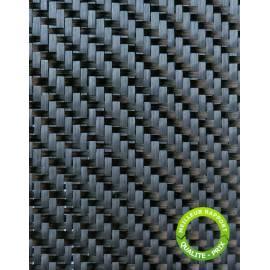 Tissu carbone Sergé 200gr, largeur 1M