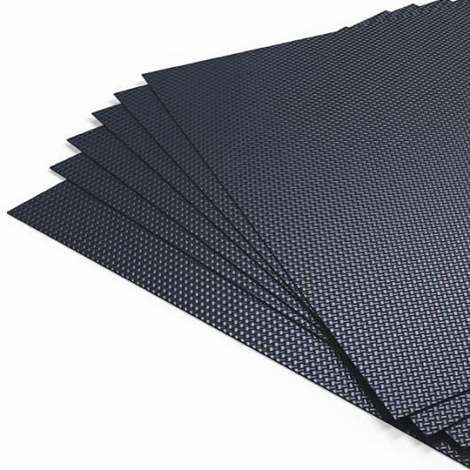 Plaque Carbone 2x400x500
